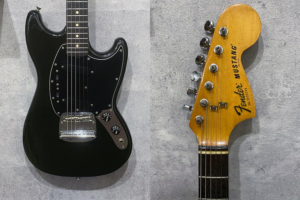 Fender USA Mustang Black