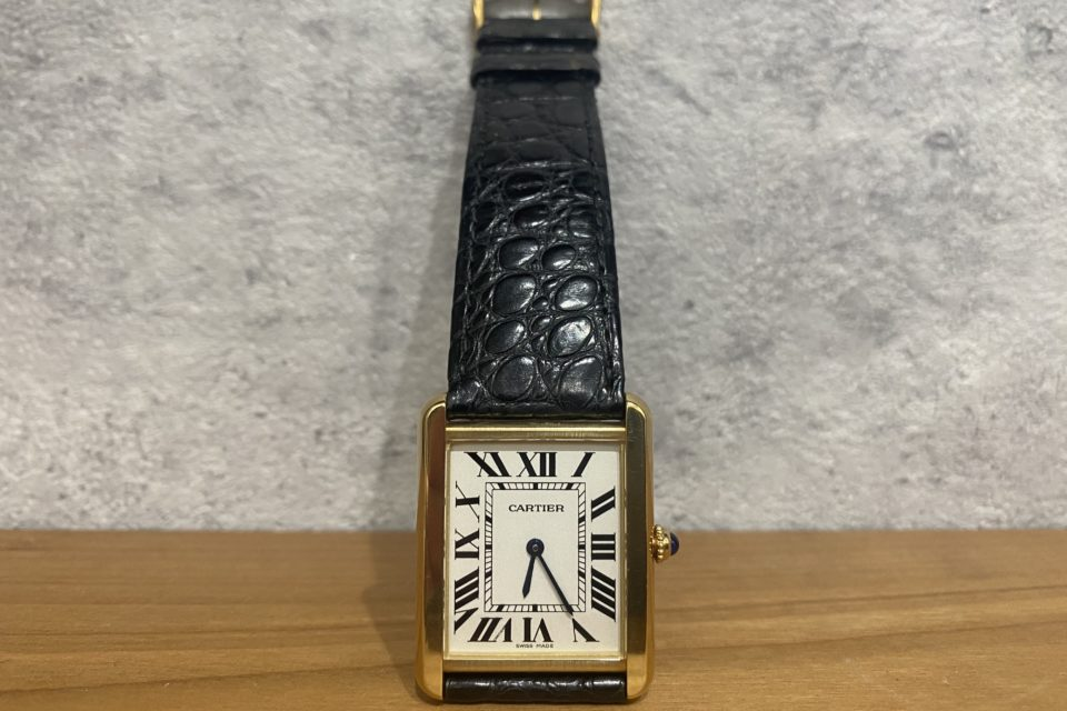 Cartier カルティエ    <br>タンクソロ LM YG/SS